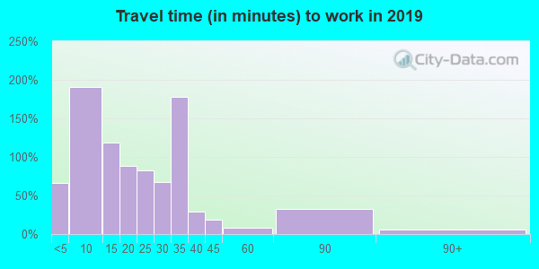 49629 zip code travel time to work (commute)