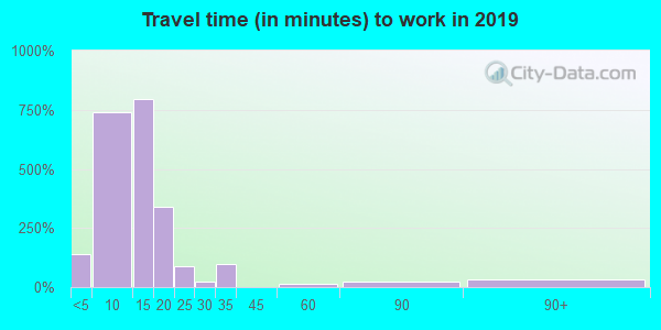 49802 zip code travel time to work (commute)