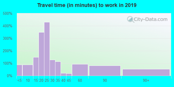 49807 zip code travel time to work (commute)