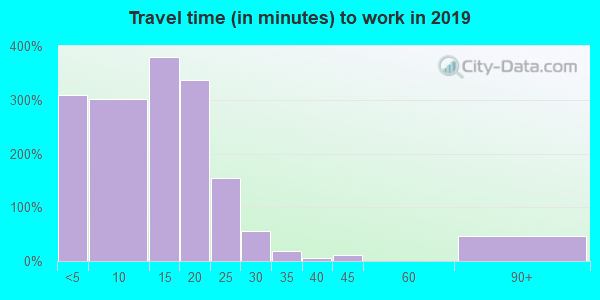 51239 zip code travel time to work (commute)