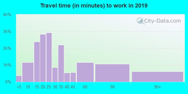 60607 zip code travel time to work (commute)