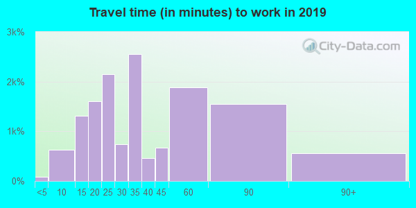 60612 zip code travel time to work (commute)