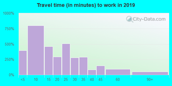 61530 zip code travel time to work (commute)