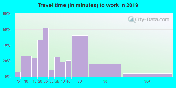 62367 zip code travel time to work (commute)