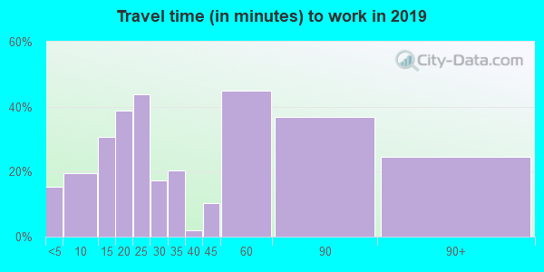 62835 zip code travel time to work (commute)