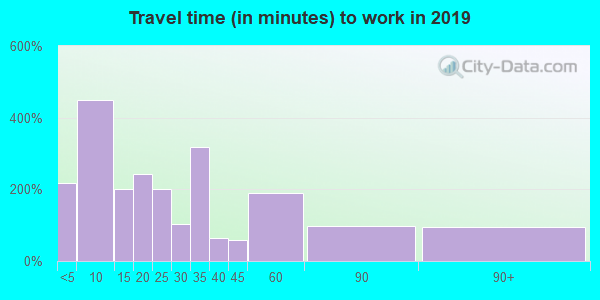 62859 zip code travel time to work (commute)