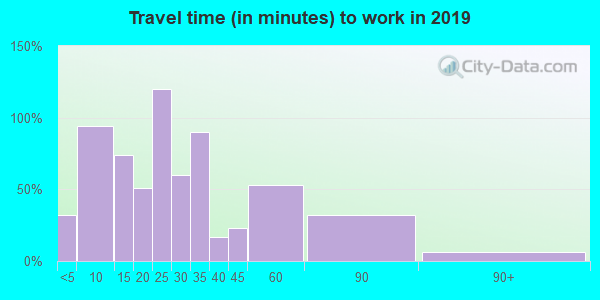 62999 zip code travel time to work (commute)