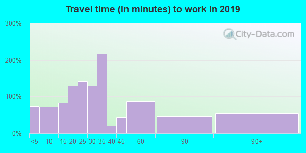 73006 zip code travel time to work (commute)