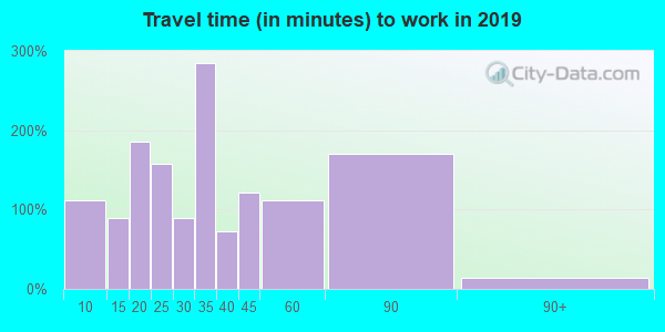 75141 zip code travel time to work (commute)