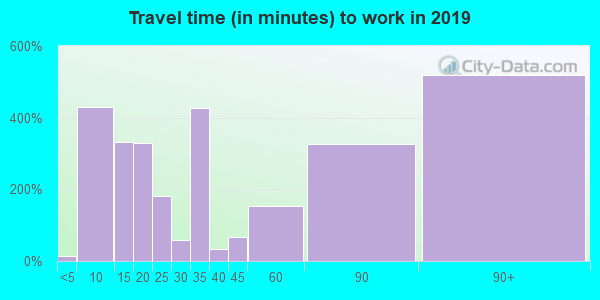 77371 zip code travel time to work (commute)