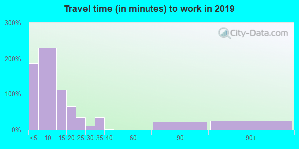 80828 zip code travel time to work (commute)