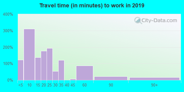 81132 zip code travel time to work (commute)