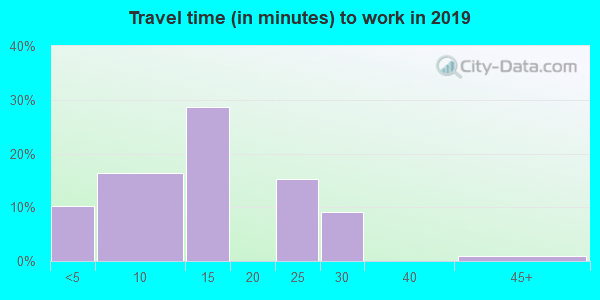 81136 zip code travel time to work (commute)