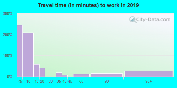 82225 zip code travel time to work (commute)
