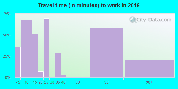 82325 zip code travel time to work (commute)
