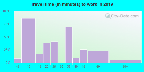 88029 zip code travel time to work (commute)
