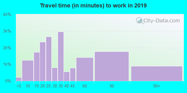 91325 zip code travel time to work (commute)