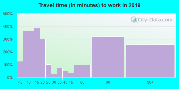 98260 zip code travel time to work (commute)