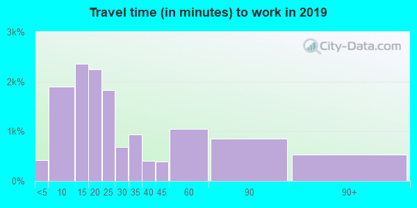 98273 zip code travel time to work (commute)