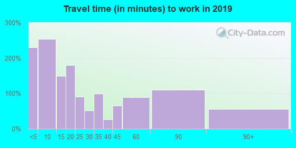 99122 zip code travel time to work (commute)