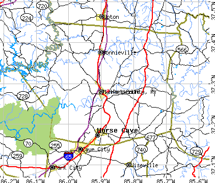 Hart County, KY map