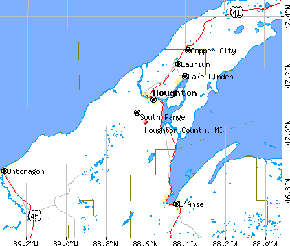 Houghton County Michigan Detailed Profile  Houses Real