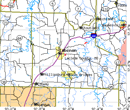Laclede County, MO map
