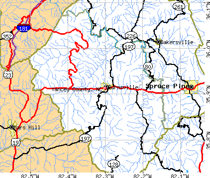 Yancey County, North Carolina detailed profile - houses, realbalance of yancey county