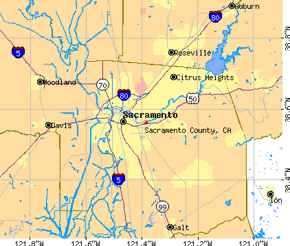 Sacramento County, California detailed profile