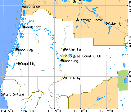 Douglas County, Oregon detailed profile   houses, real estate
