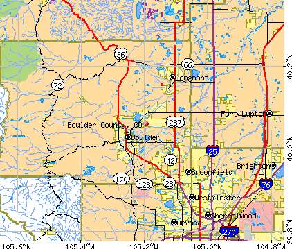 Boulder County Colorado detailed profile houses real estate