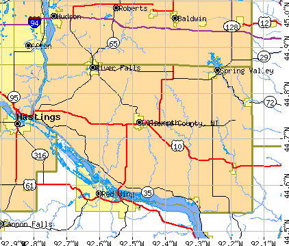 Wisconsin Counties On The Mississippi River