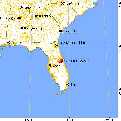 Bithlo, FL (32820) map from a distance