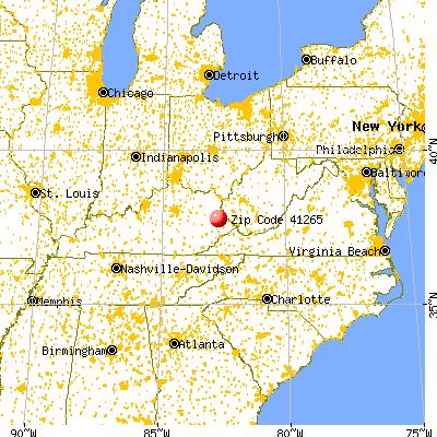 41265 Zip Code Prestonsburg Kentucky Profile  Homes