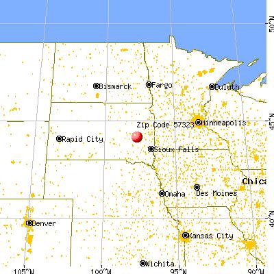 57323 Zip Code Carthage South Dakota Profile  Homes