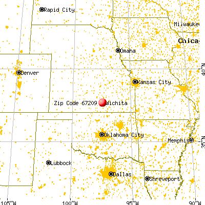 67209 Zip Code Wichita Kansas Profile Homes