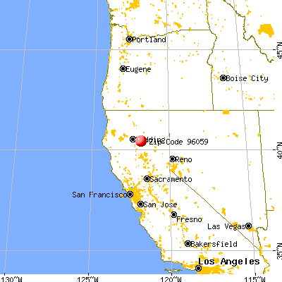 Manton, CA (96059) map from a distance