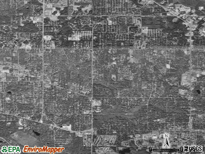 Zip code 32605 satellite photo by USGS