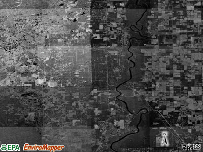Zip code 32680 satellite photo by USGS