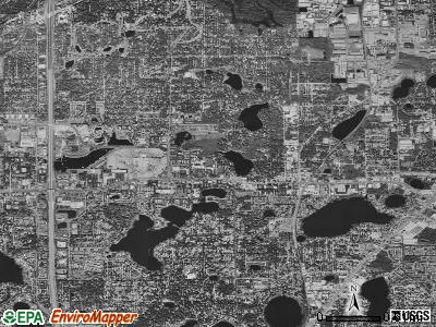 Zip code 32701 satellite photo by USGS
