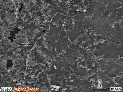 Zip code 04260 satellite photo by USGS