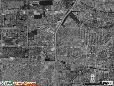 Zip code 33311 satellite photo by USGS
