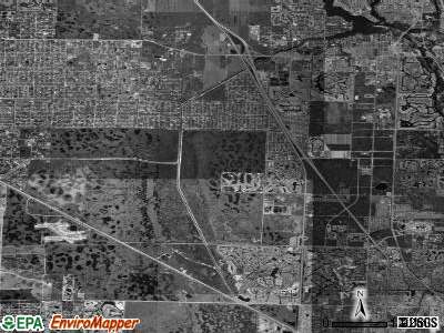Zip code 33418 satellite photo by USGS