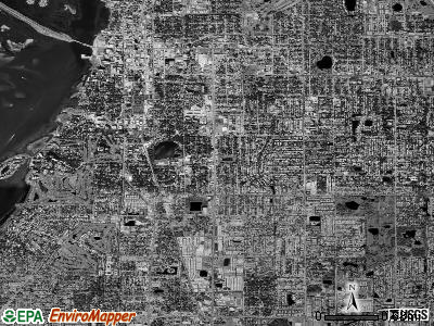 Zip code 33756 satellite photo by USGS