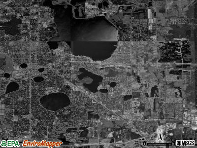 Zip code 33801 satellite photo by USGS