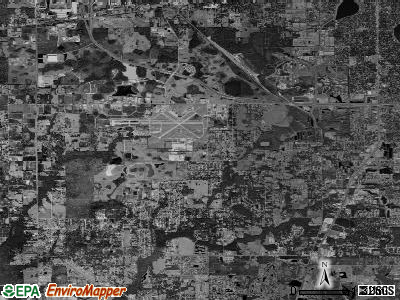 Zip code 33811 satellite photo by USGS
