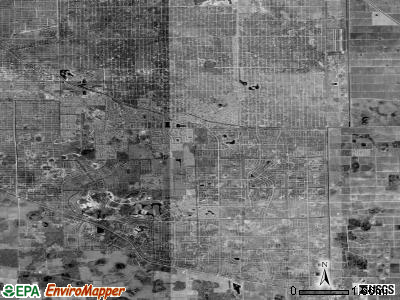 Zip code 33936 satellite photo by USGS