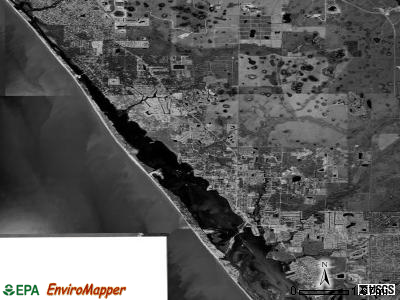 Zip code 34223 satellite photo by USGS