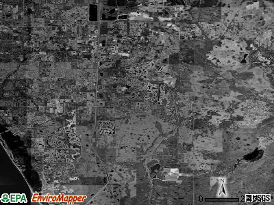 Zip code 34241 satellite photo by USGS