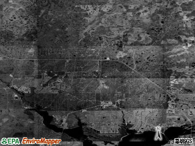 Zip code 34286 satellite photo by USGS